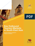 Key Outbound Tourism Markets in SE Asia