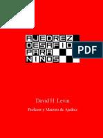Ajedrez Desafios Para Ninos - David H. Levin