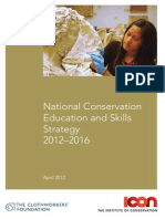 ICON - UK - National Conservation Education and Skills Strategy - 2012-2016
