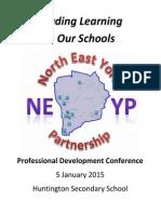 NEYP TD Programme - Booklet 5 January 2015 Final Version 5-1-15