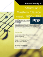 Structure in Western Classical