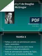 Teoria X y Y Mc Gregor