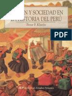 Nación y Sociedad en La Historia Del Perú - Klarén, Peter,IEP