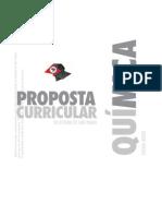 Proposta Curricular de Quimicapara o Ensino Médio do Estado de São Paulo