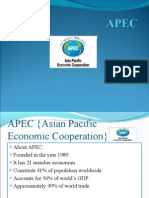APEC {Asian Pacific Economic Cooperation}