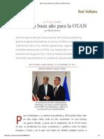 2014, Un Buen Año Para La OTAN
