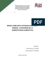 Brasil Como Sexta Potencia Economica Mundial