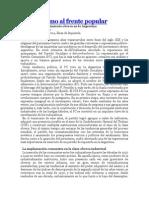 Del Clasismo Al Frente Popular - por Hernan Camarero