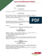 Acuerdo 3-96 Reglamento de La Carrera Del Ministerio Público