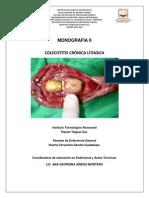colecisititis cronica aguda