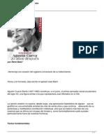 Agustin Cueva Ciencia y Rebeldia