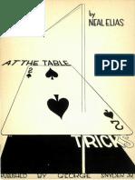 At the Table Tricks b yNeal C. Elias
