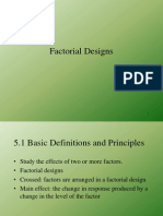 Introduction Factorial Designs