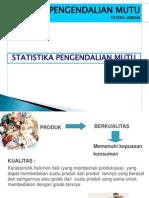 1. Statistik Pengendalian Mutu Pangan 1