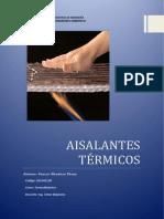 AISLANTES Térmicos