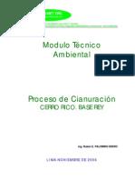 05 Proceso de Cianuracion