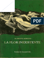 1969 Miguel Serrano - La Flor Inexistente