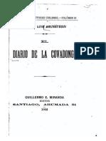 Amunategui Miguel Luis - El Diario de La Covadonga 1902