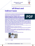 All Direct and Indirect Taxes