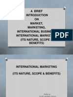 Sujay on International Marketing