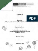 CONCESION NORTE - GNL- CONTRATO