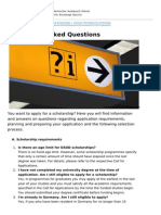 Deutschland Stipendium Hinweise en Frequently Asked Questions