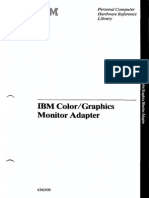 CGA - IBM Color Graphics Monitor Adapter