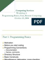 General Programming 101304