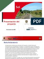 Colombia - Projecto Ruta del Sol