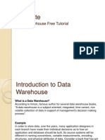 Data Warehouse Free Tutorial