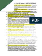 lit- final essay planspoetry