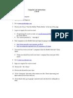 Computer Lab Instructions 1-13