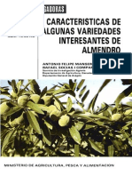 Caracteristicas Variedades Del Almendro