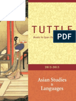 Catalog 2012 2013 Asian Studies and Languages