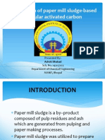 Preparation of Paper Mill Sludge-based Granular Activated Carbon