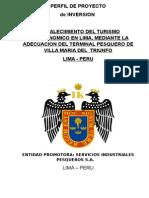 Perfil de Proyecto Turismo Pesquero (Reparado)