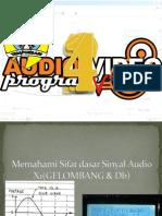 1. Memahami Sifat Dasar Sinyal Audio Gelombang & Decibell