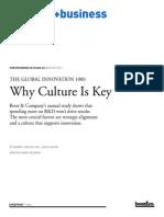 Strategyand Global Innovation 1000 2011 Culture Key