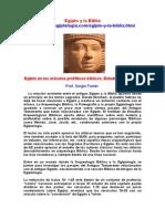 Egipto y La Biblia