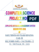 computerscience projectwork