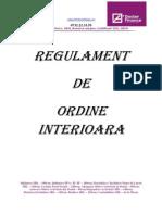 Eregulament Intern SRL