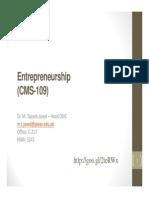 Ch1 - Entrepreneurship and New Venture Opportunities