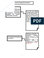 Structura Propunerii Proiectului