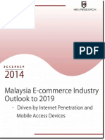 Malaysia E Commerce Market by Revenue - Report by Ken Research