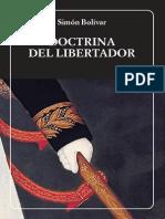 Bolívar, Doctrina Del Libertador