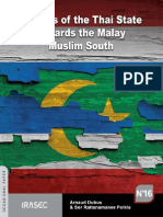 Policies of the Thai State Towards the Malay Muslim South 1978 2010