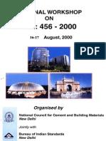 National Workshop on Is_456-2000