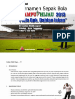 Proposal Turnamen Sepak Bola 2013