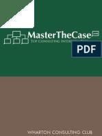 Wharton 2008 casebook