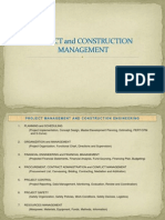 1. Project Management and Construction Engineering